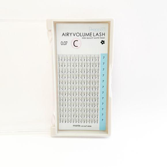 Airy Volume Lash Prepped 3D D 0.07 x 11mm