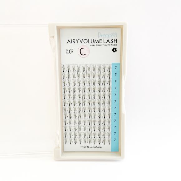 Airy Volume Lash Prepped 5D C 0.07 x 07mm