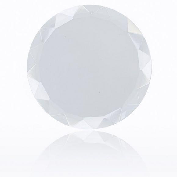 胶水放置台(透明圆形)