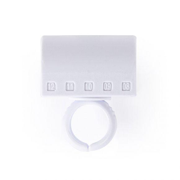 空气感睫毛圆戒指环