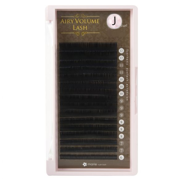 空气感睫毛 J 0.07 × 6-12mm 混合
