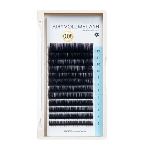 空气感睫毛 CC 0.08 × 5-12mm 混合