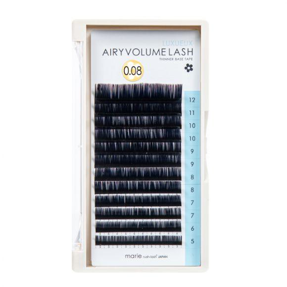 空气感睫毛 D 0.08 × 5-12mm 混合