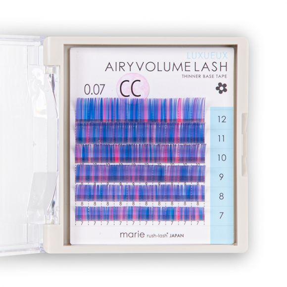 空气感睫毛 混合彩色 0.07mm