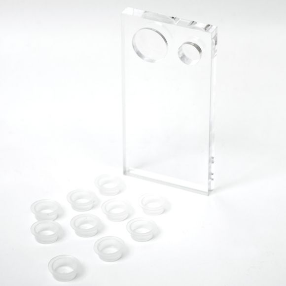 睫毛放置台 (附胶水杯10个)