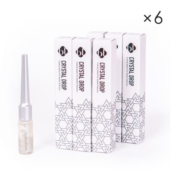 镶钻透明睫毛固定剂 刷头式 (6支)