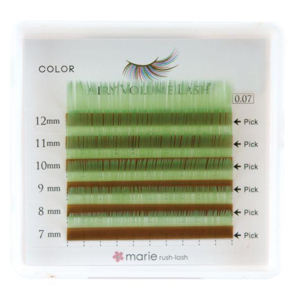 薄荷绿 D 0.07 x 7-12mm 混合
